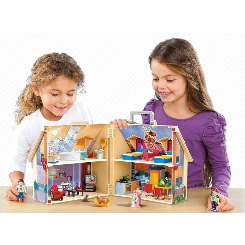 Casa de muñecas Playmobil para el dia de Olentzero
